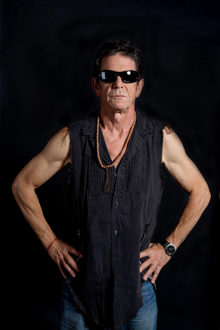 LOU REED BY JAMES CLARKE