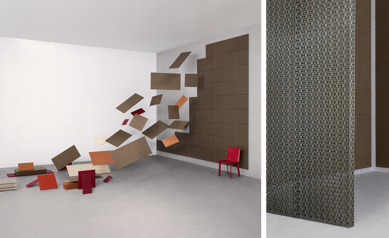 Shigeru Ban: The Japanese architect is known for his masterful work with wood, paper and cardboard. Pictured: customisable wall system for Hermès  Read more at https://www.wallpaper.com/design/top-20-architects-who-have-turned-their-hand-to-product-design#2e3ompB8yJVmfYLT.99