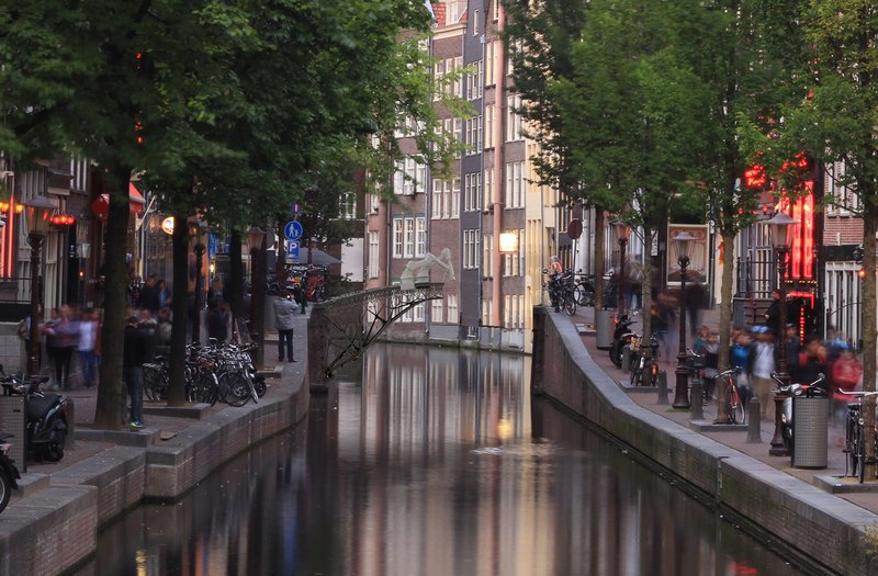 Dutch 3D printing firm MX3D cut the ribbon on its project to 3D print a steel bridge across one of the city's famous canals using two modified, multi-axis robotic arms.