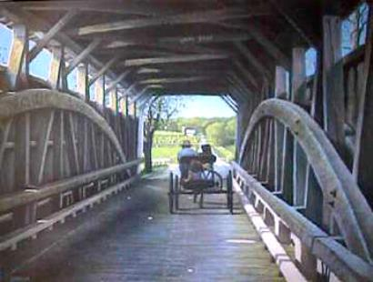 """Banks Bridge -   Signed & Numbered Limited Edition Print   Size 16 1/2"""" x 21"""" (Edition size: 950)  Price:  $75"""