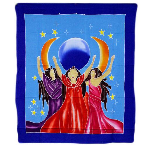 Diosas Tres Lunas (89 x 84 cm)