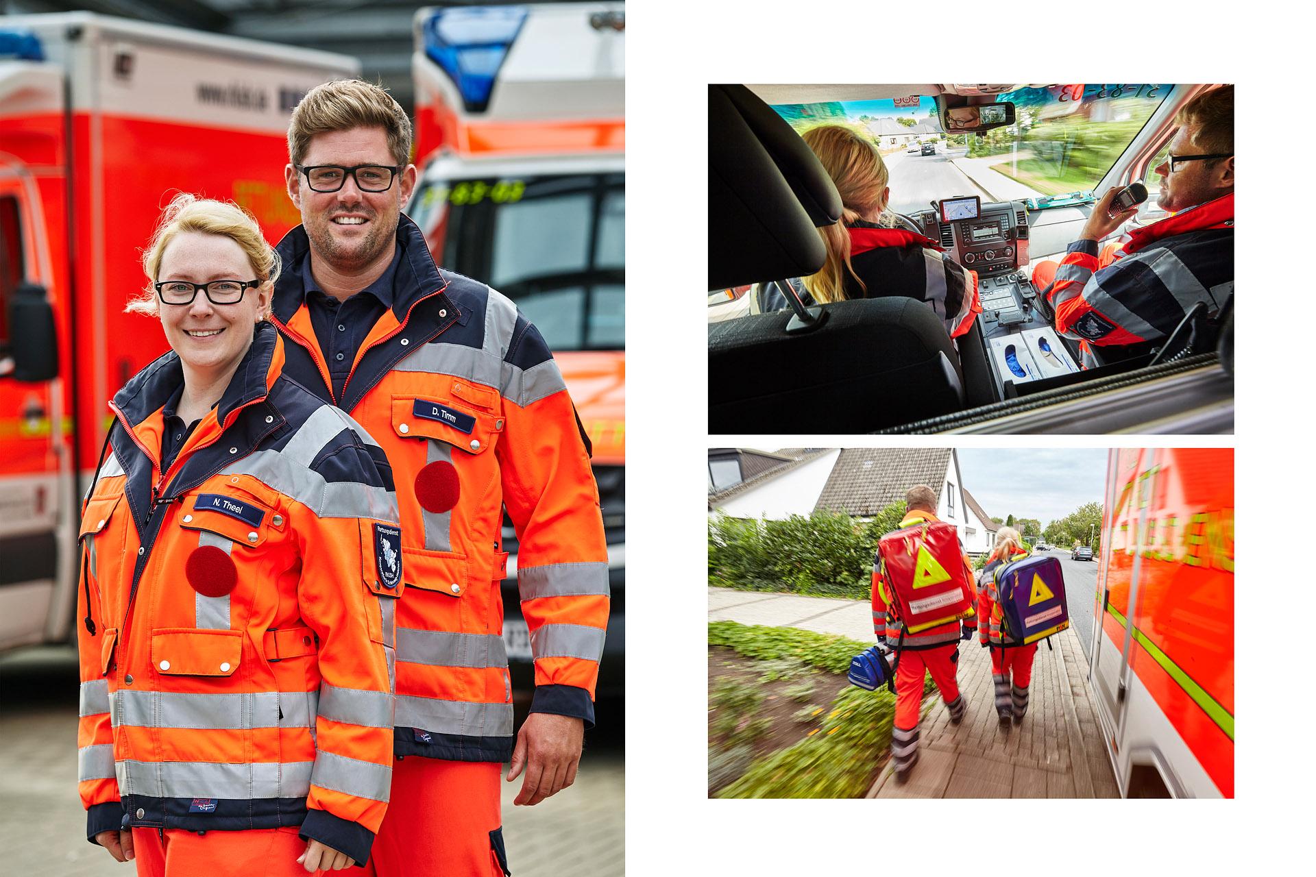 Rettungsdienst-Kooperation in Schleswig-Holstein