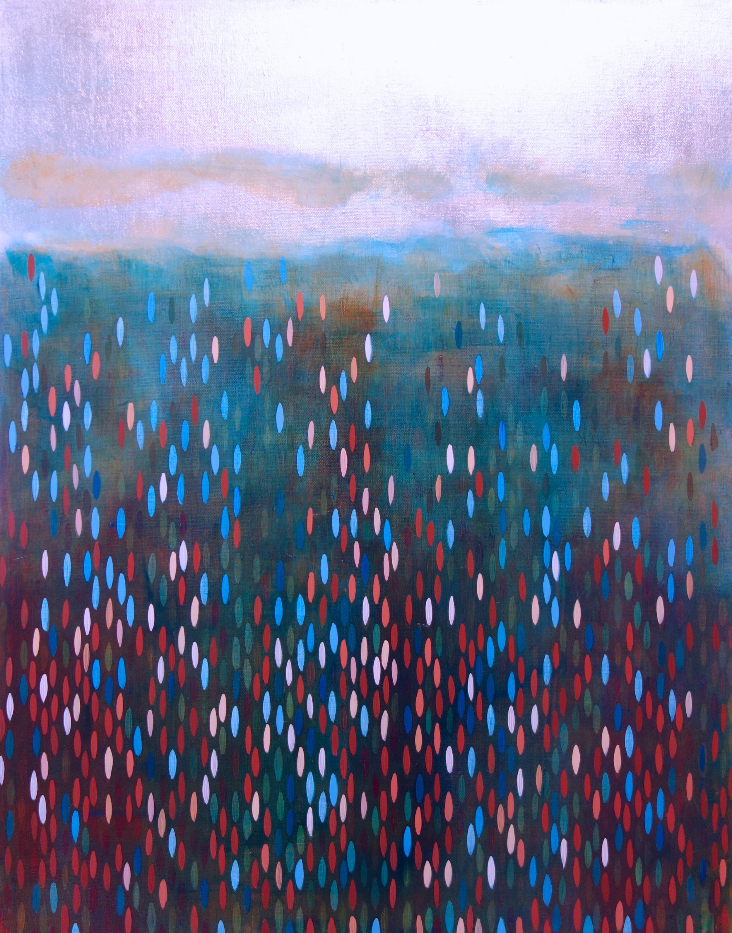 """Avast, 2012, acrylic + alum-silver on canvas, 28""""x22"""" (≈71x56cm)"""