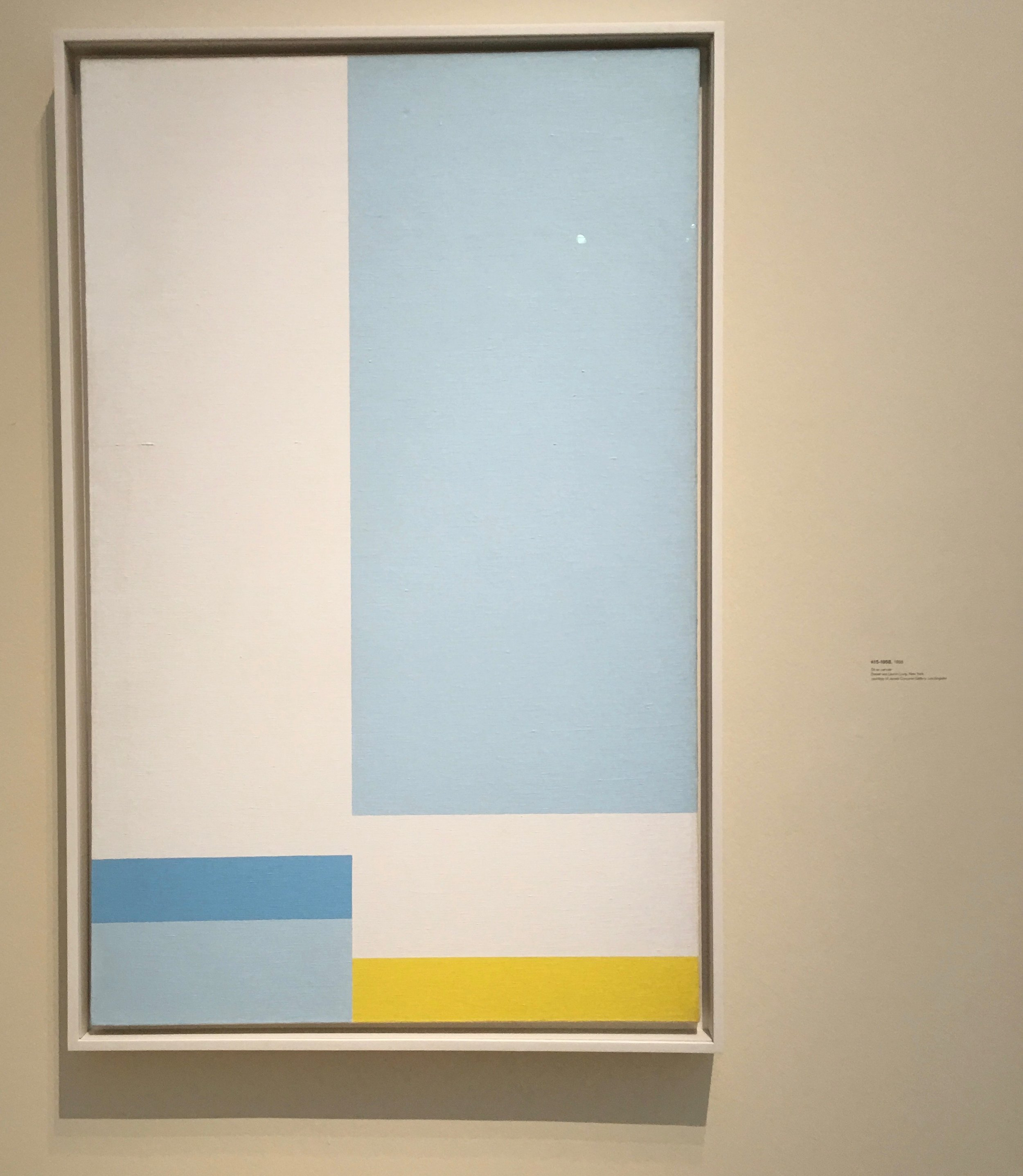 #15-1958, 1958, Oil on Canvas