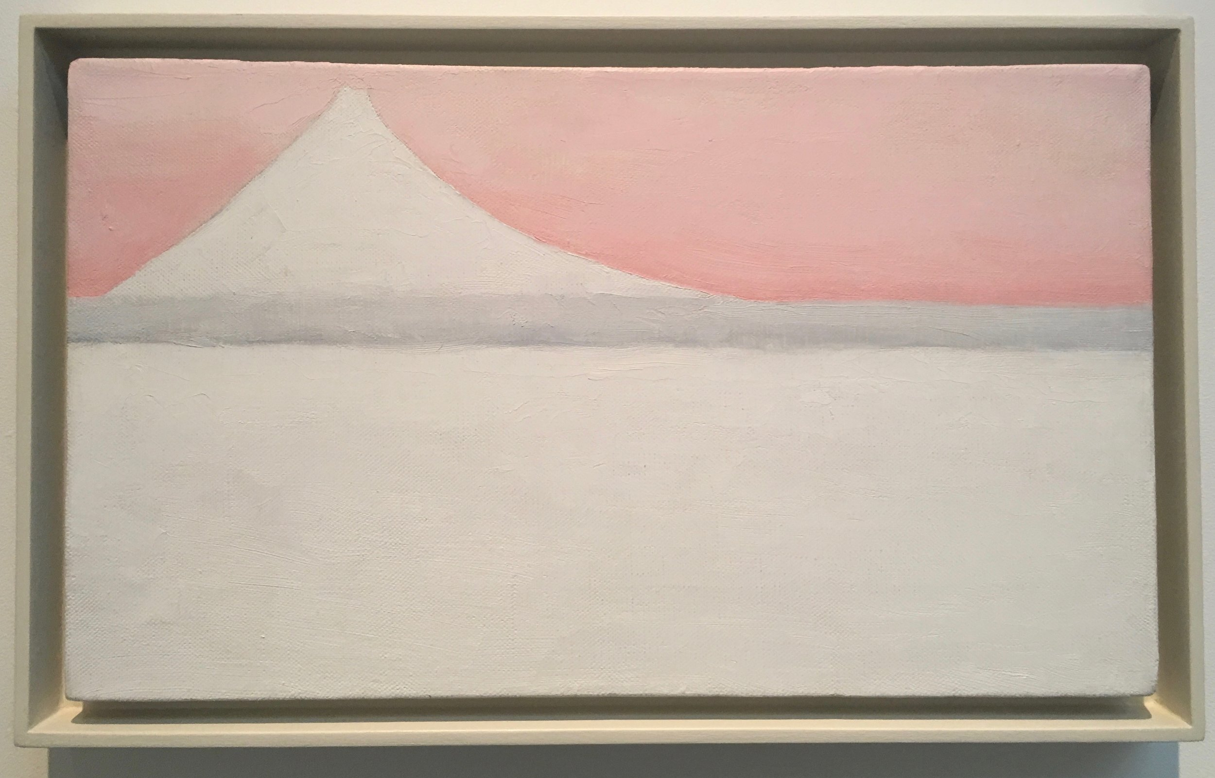Georgia O'Keefe, Untitled (Mt. Fuji), 1960