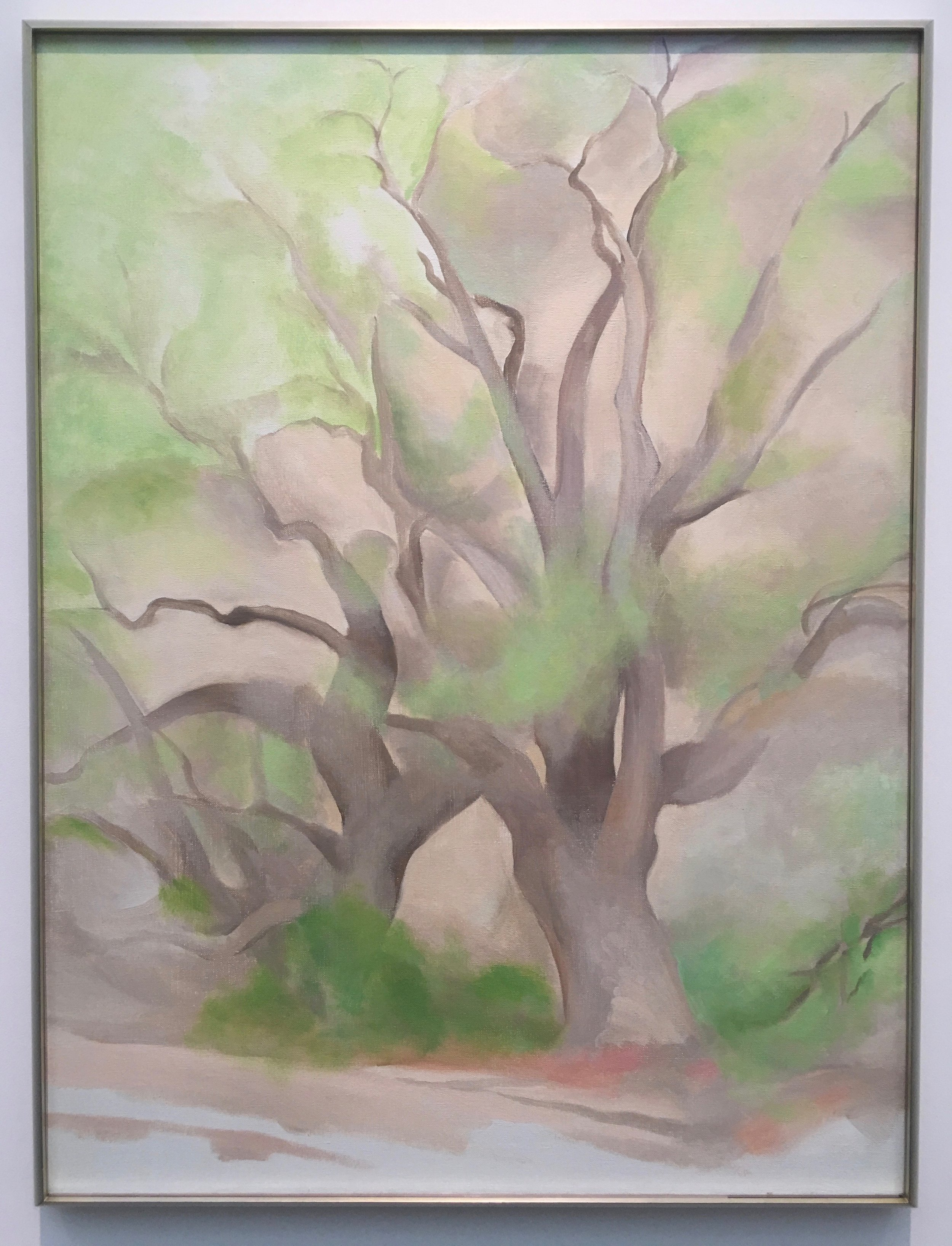 Georgia O'Keefe, Green Tree, 1953, Oil on Canvas