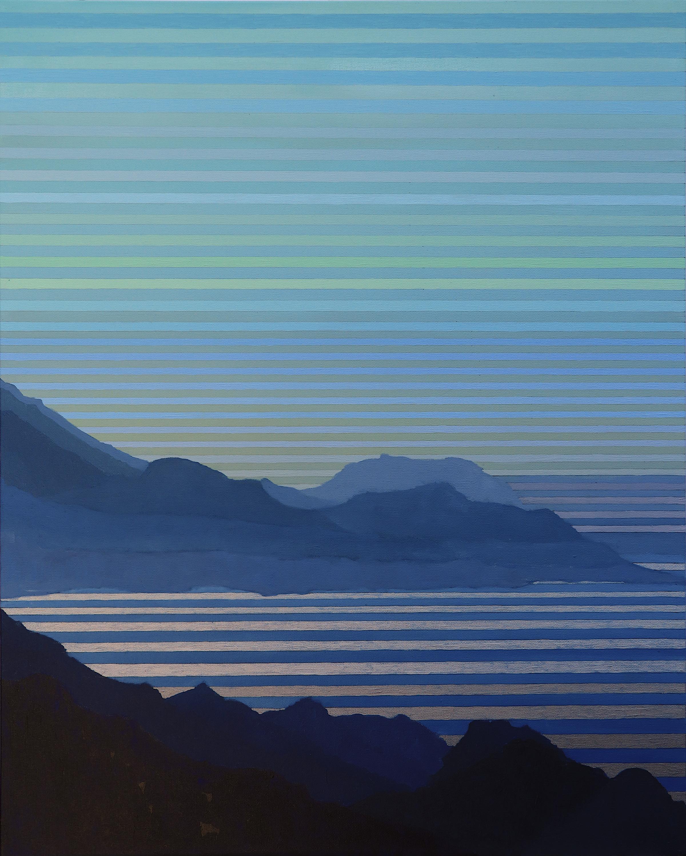 "Lucia. 2019. Acrylic and Oil on Canvas. 30""x24"""