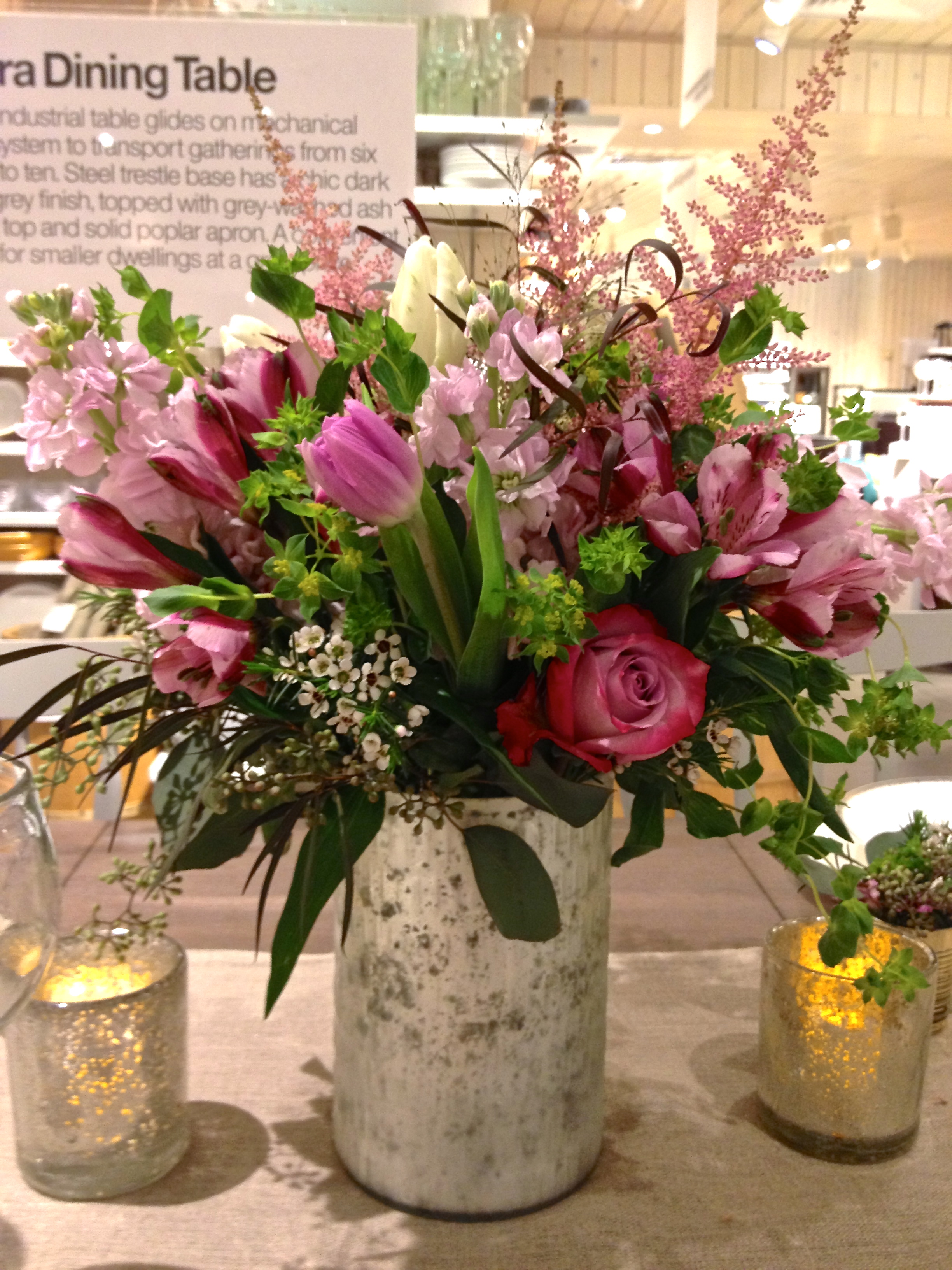 crate & barrel bridal event, white plains, ny