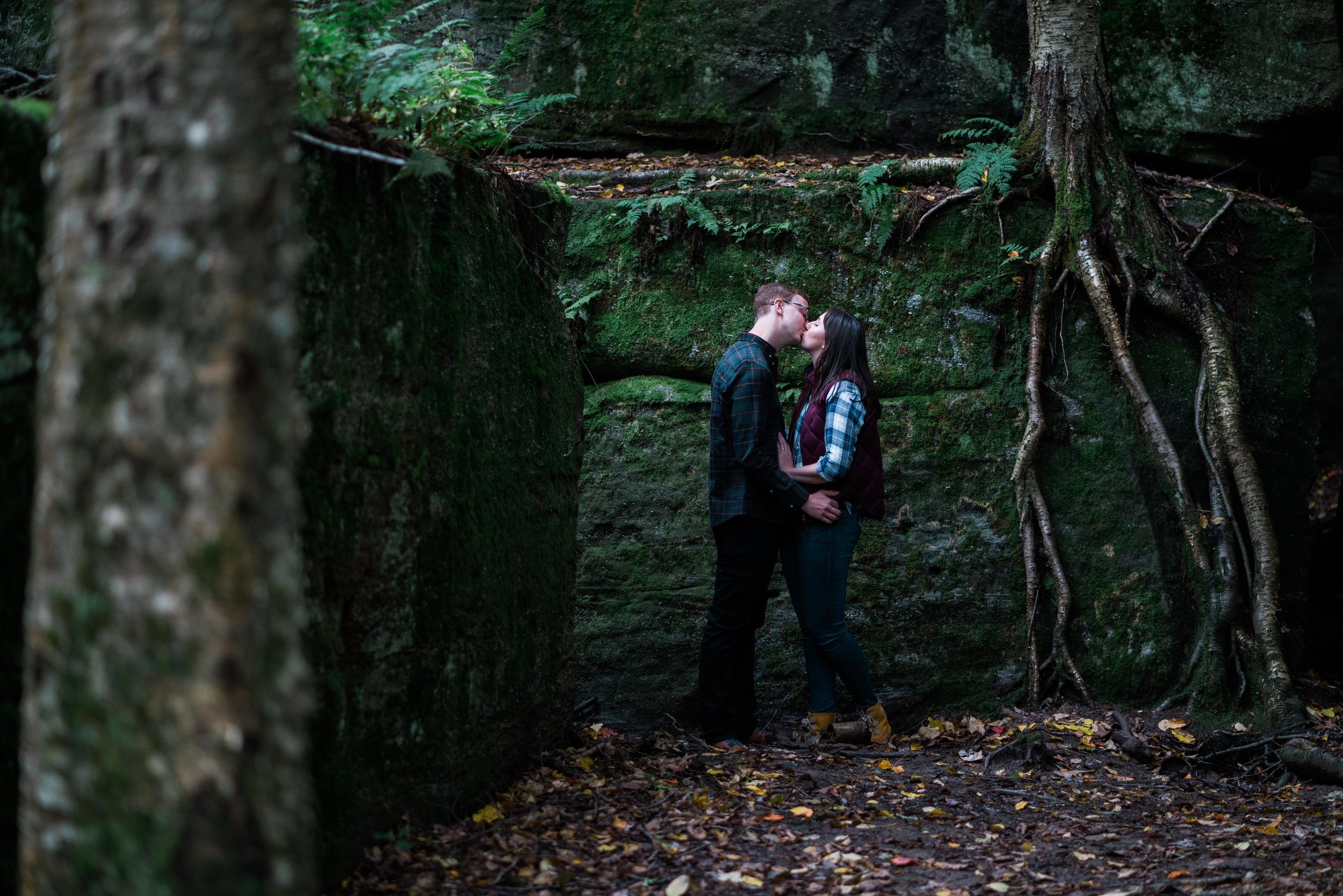 Jessica and JR Engagement Photography by Stefan Ludwig at Rock City State Park in Ellicottville, NY-23.jpg