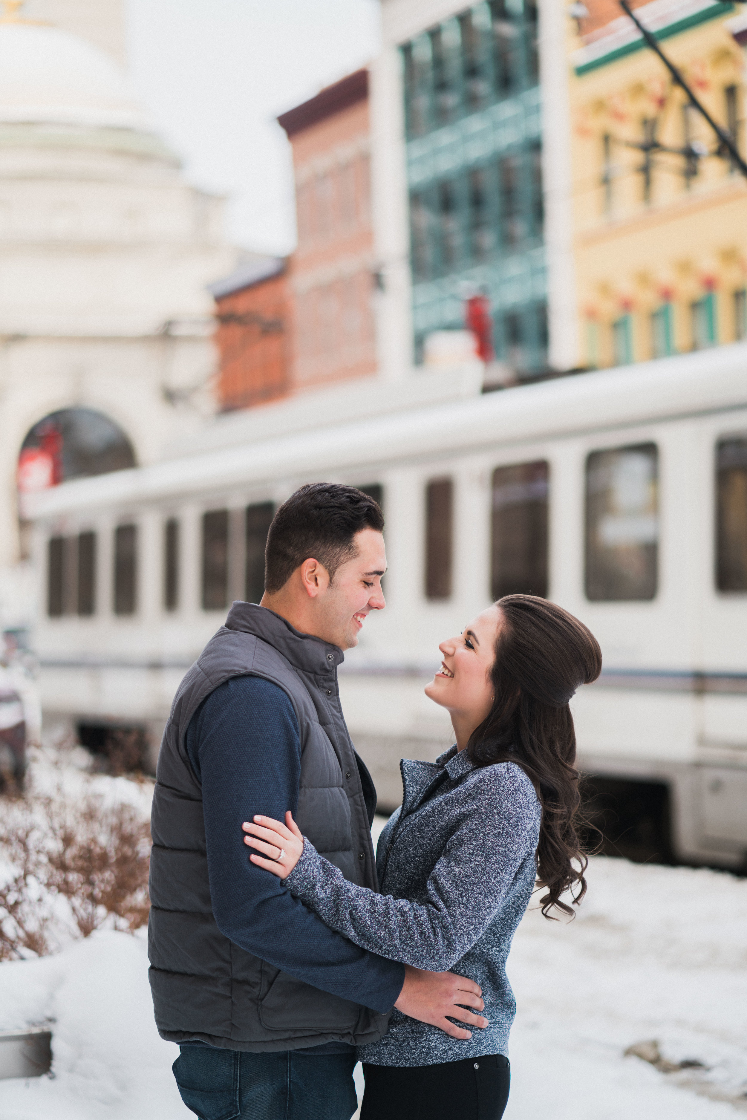 Sara and Mike Engagement Photography in Downtown Buffalo by Stefan Ludwig Photography-3.jpg