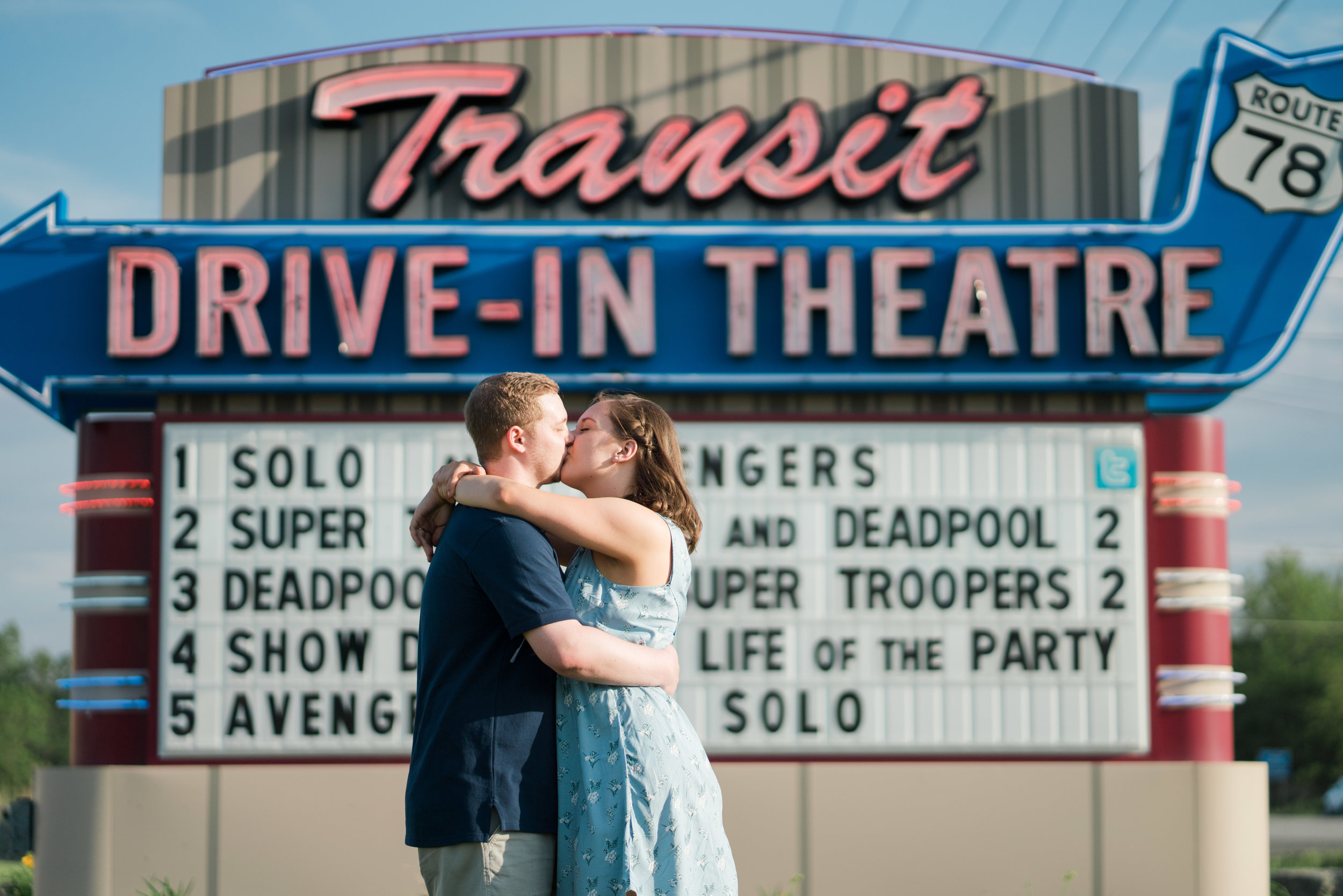 Katie and Ryan Engagement Session at Transit Drive In by Stefan Ludwig Photography-48.jpg