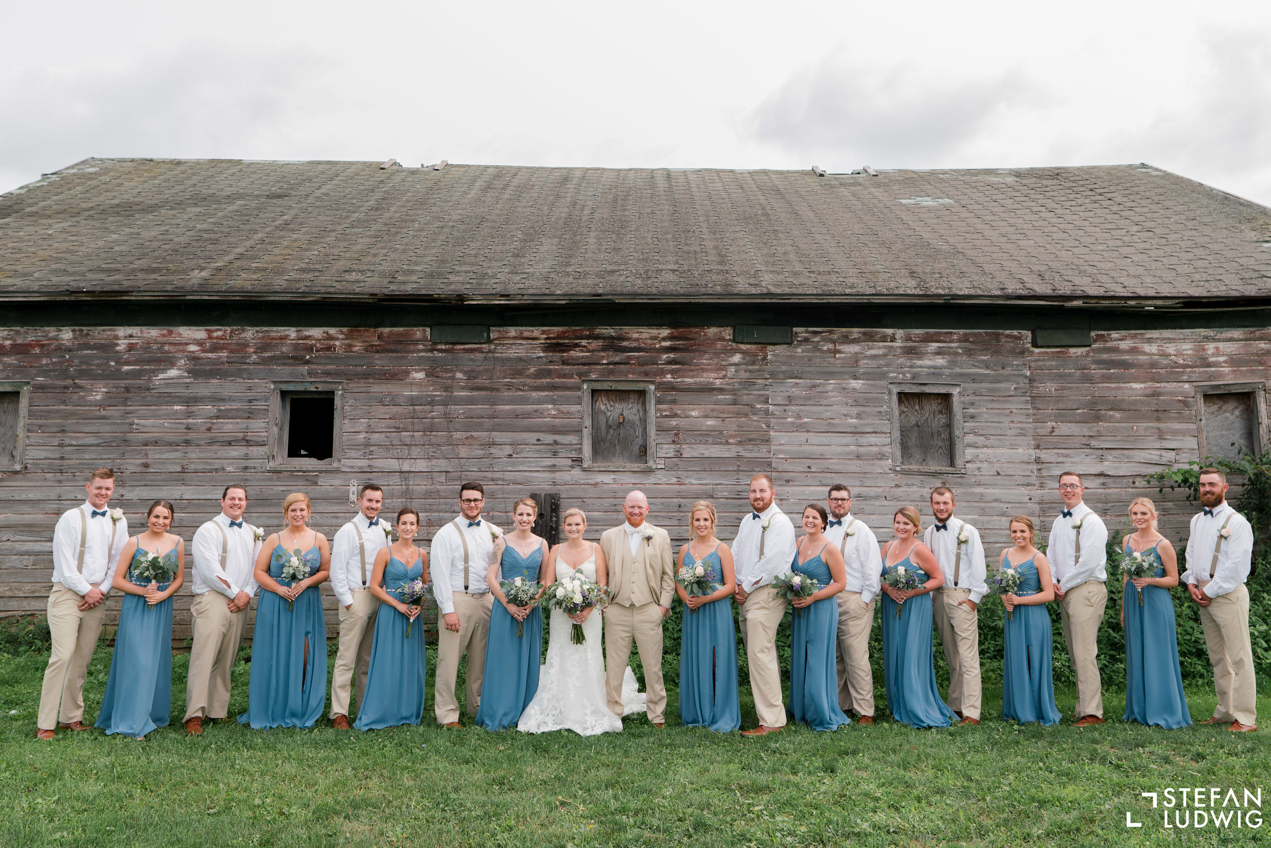 Blog Chelsea and Beau Wedding Photography at Gallagher Barn in Gasport NY by Stefan Ludwig Photography -31.jpg