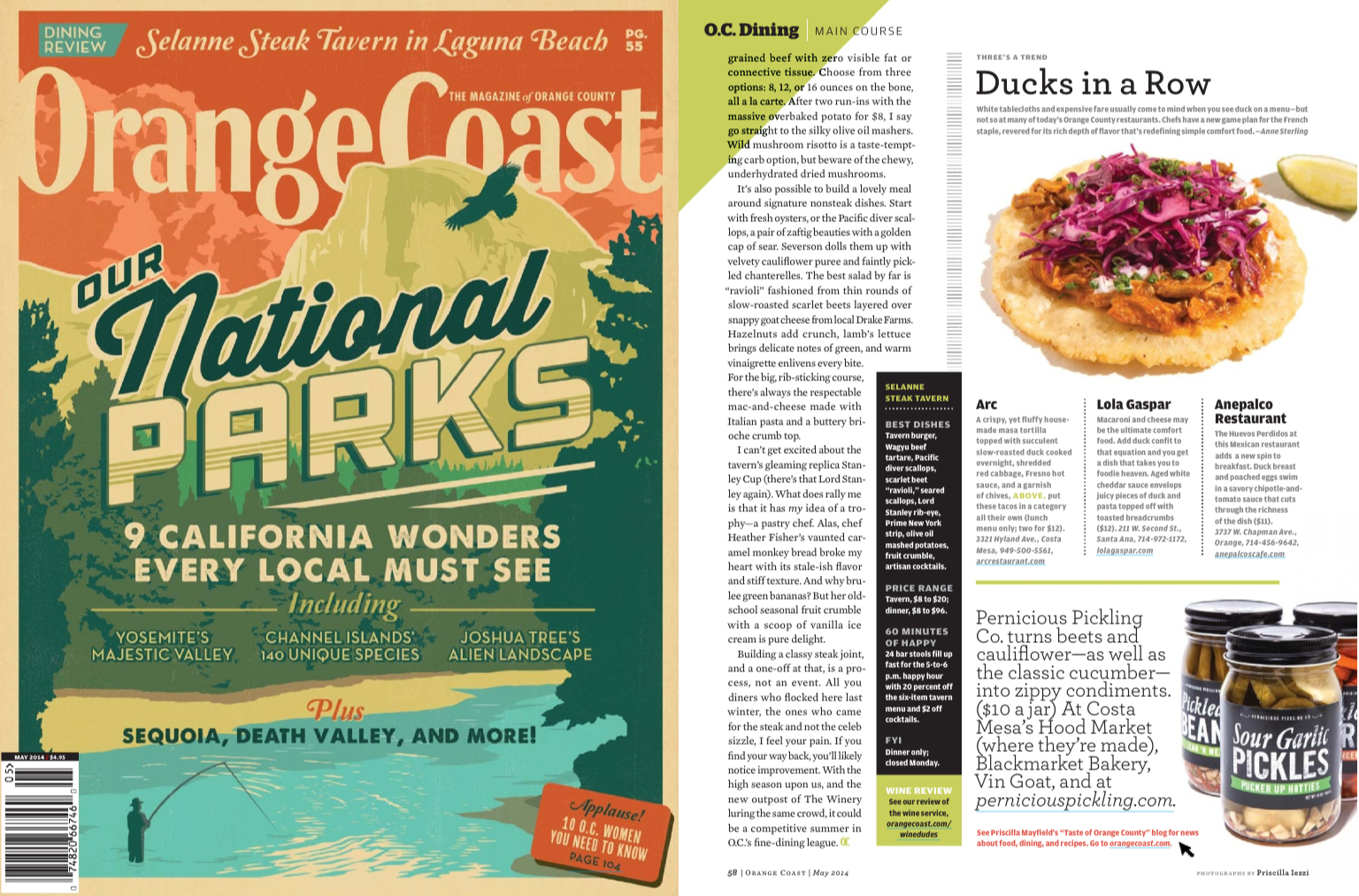 Orange Coast Magazine  (April 2014)