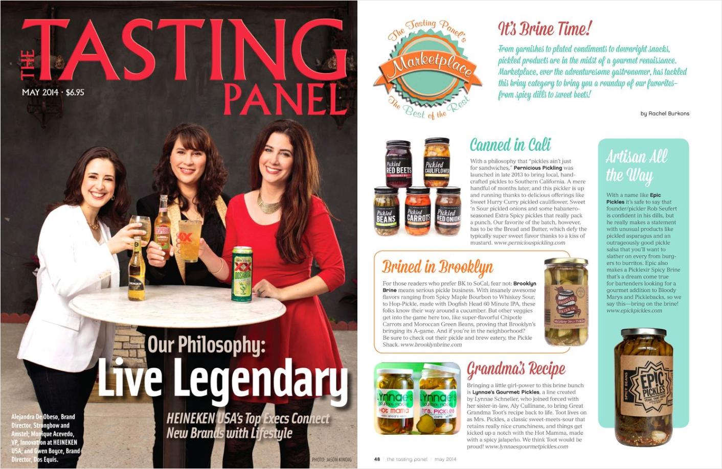 The Tasting Panel , (April 2014)