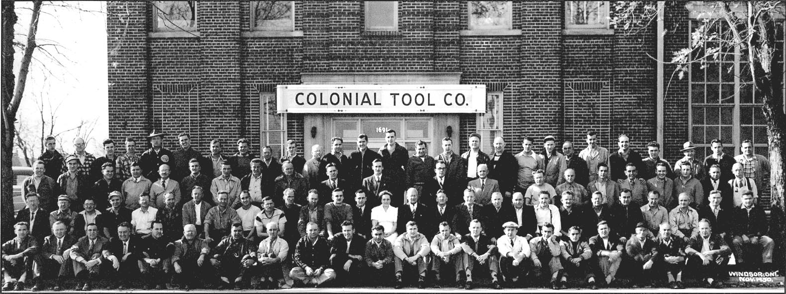 COLONIAL TOOL 1950