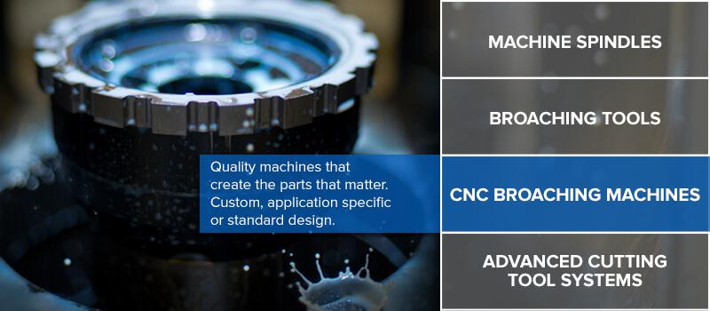 CNC Broaching Machine