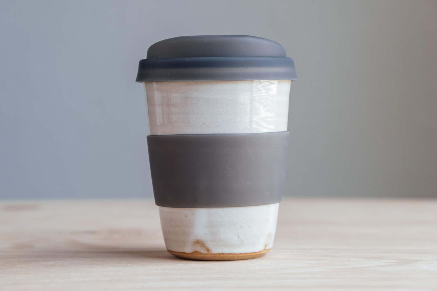 """Travel Tumbler - Eggshell   $20.50 Wholesale   $34 MSRP  Approx. 4.5"""" tall x 3.5"""" wide, 12oz"""