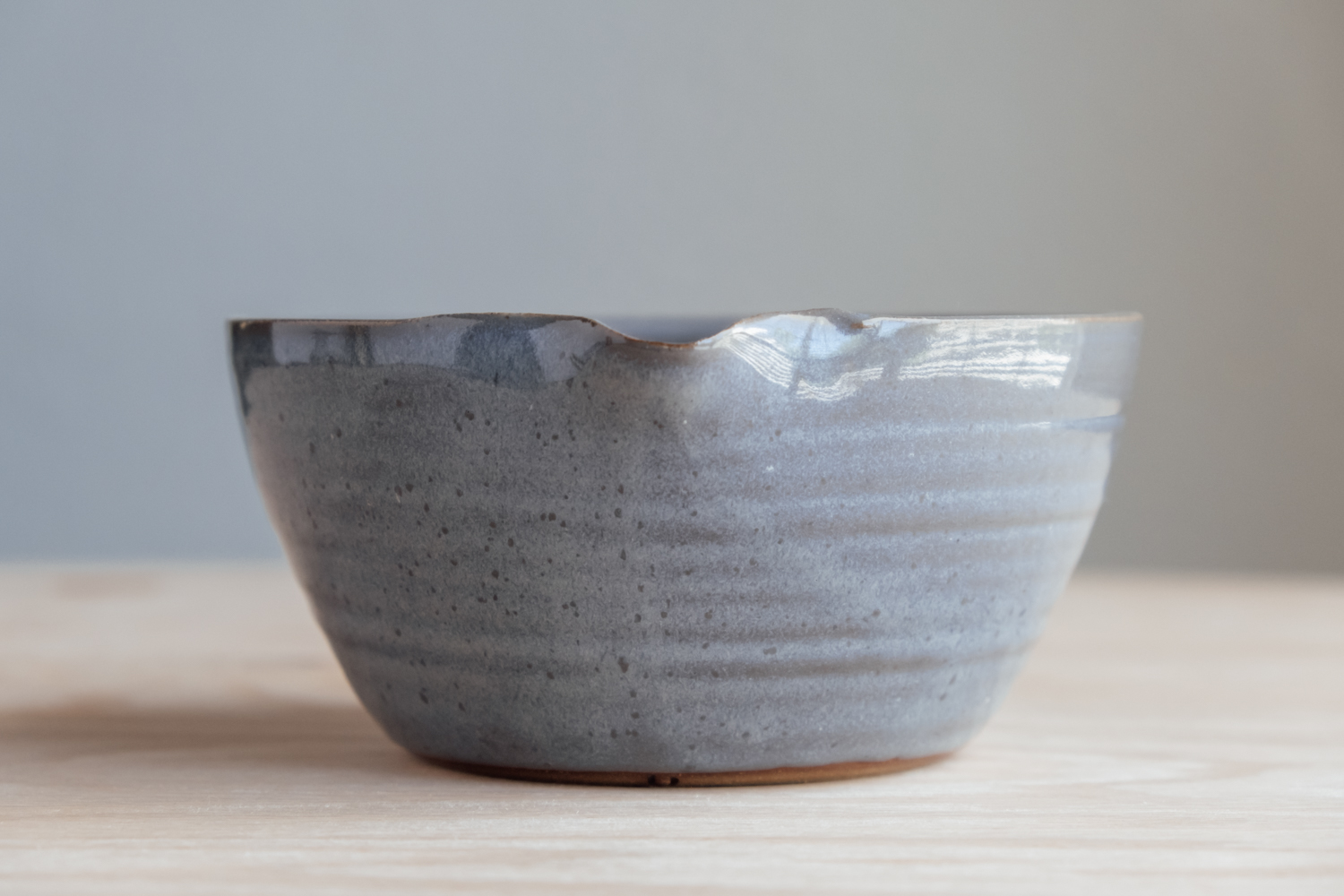 """Medium Mixing Bowl - Stone   $19 Wholesale   $32 MSRP  Approx. 3.25"""" tall x 7"""" wide"""