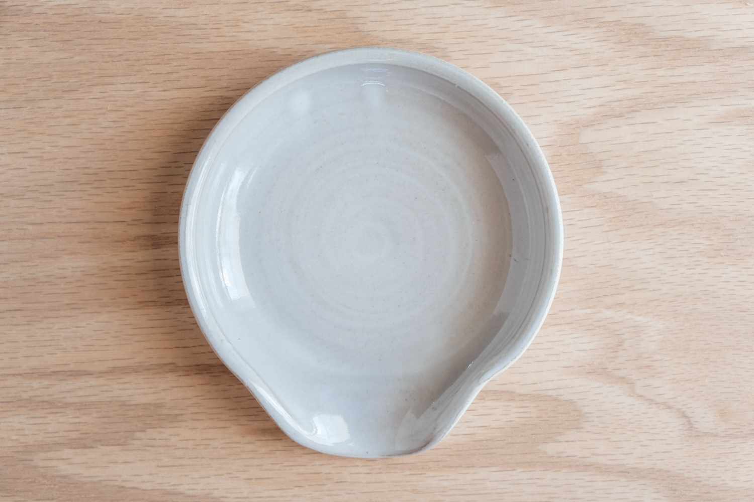 """Spoon Rest - Eggshell   $13.50 Wholesale   $22 MSRP  Approx. 1.25"""" tall x 5"""" wide"""