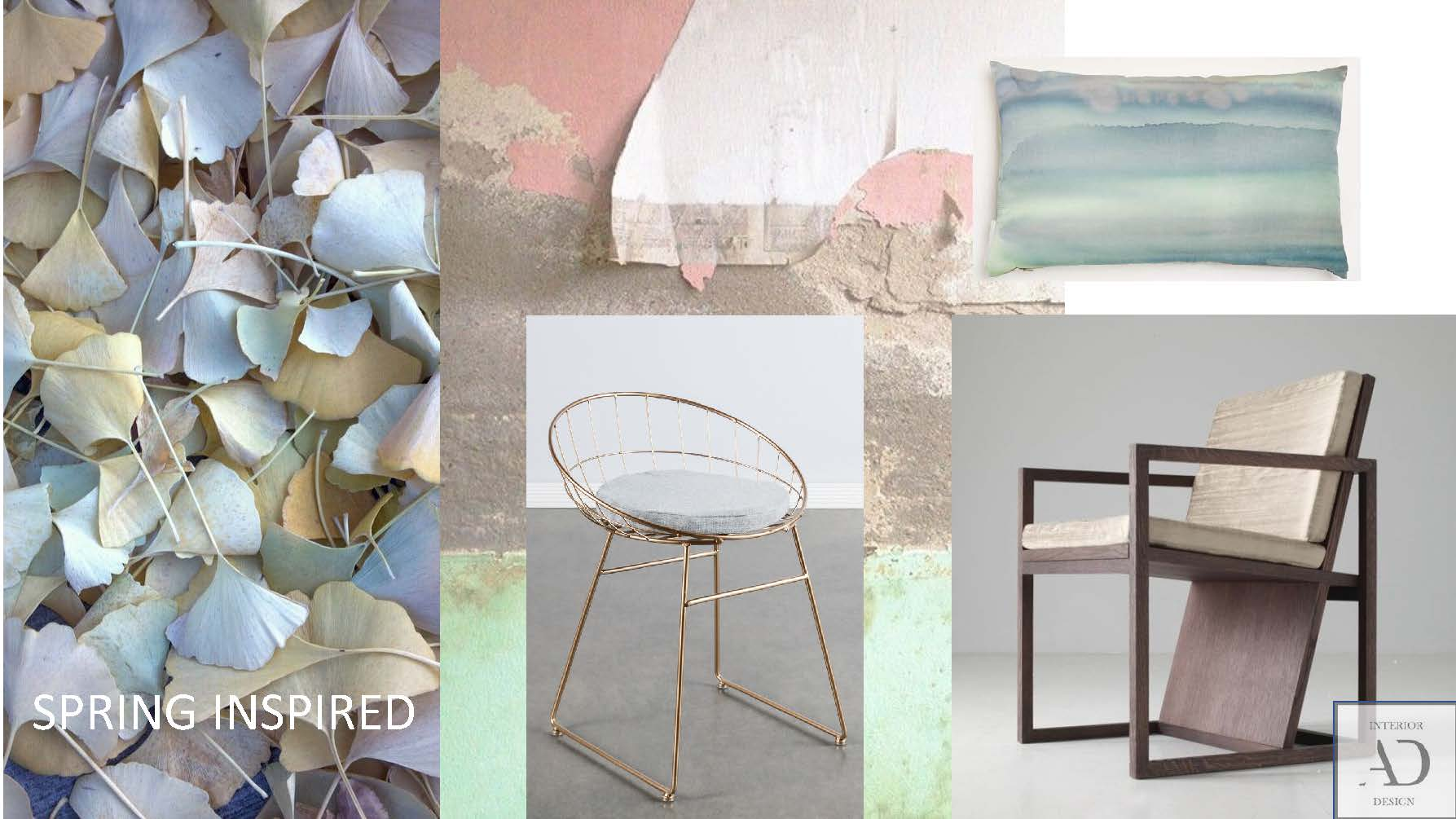 Spring Inspired Mood Board