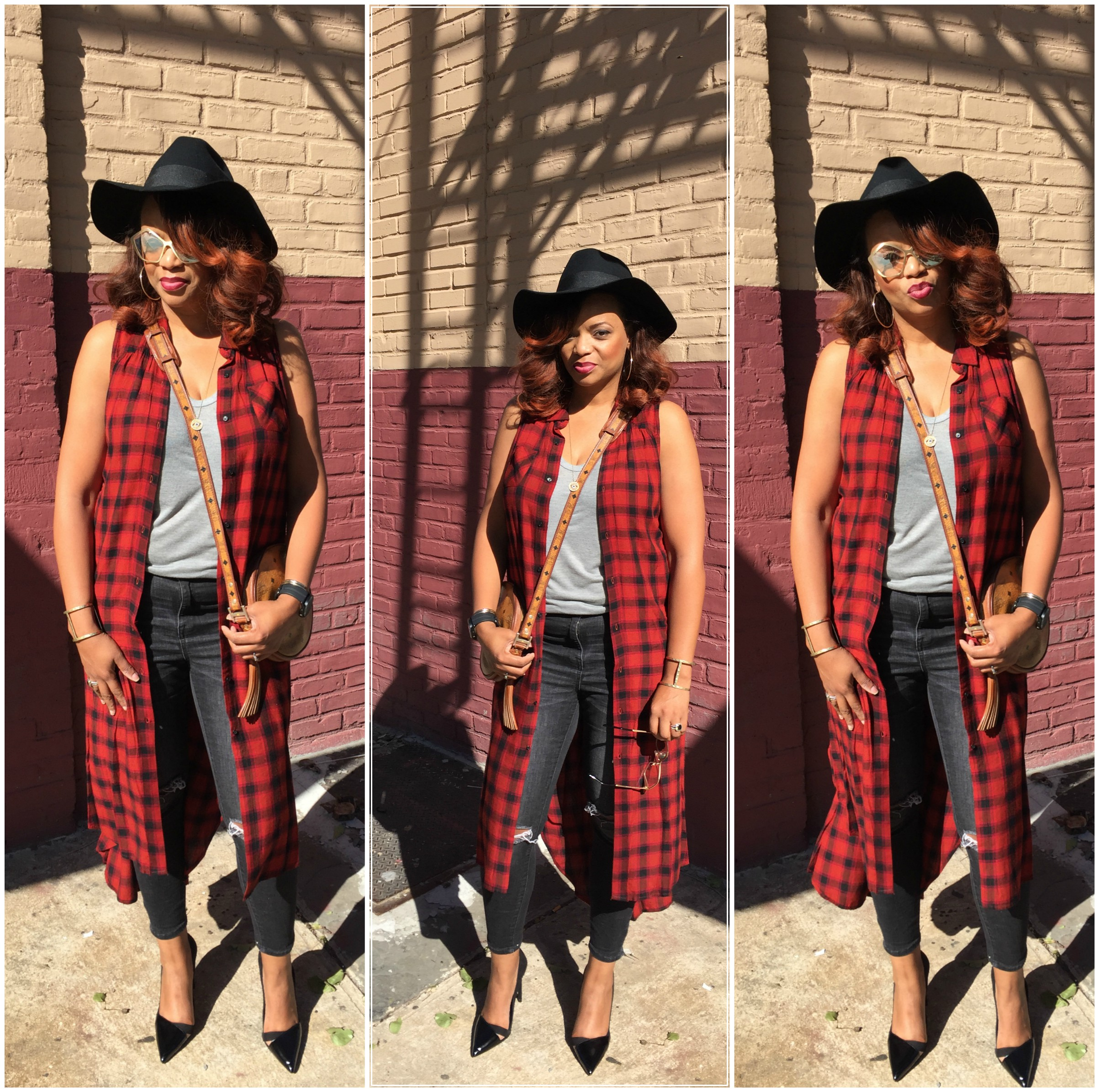 How about my #SybilStreetSTYLe X #Targetstyle featuring Fall's most popular plaid!!! Love Target