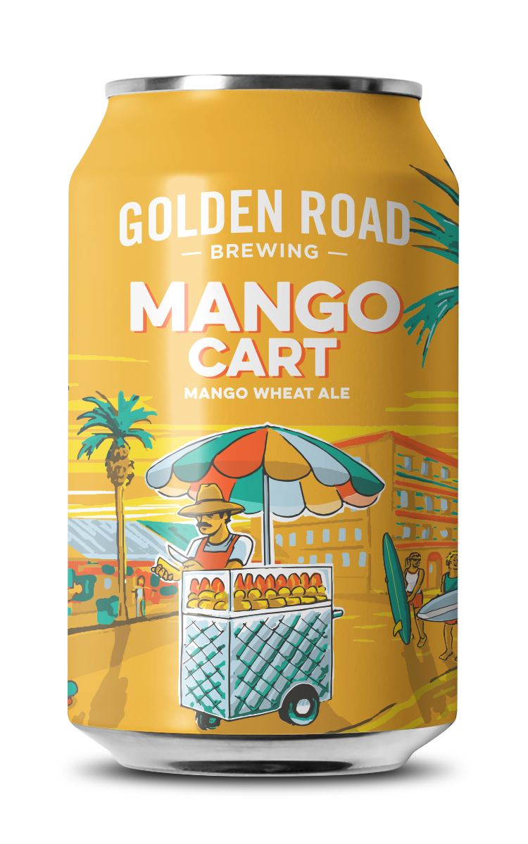 Mango Cart — Golden Road Brewing