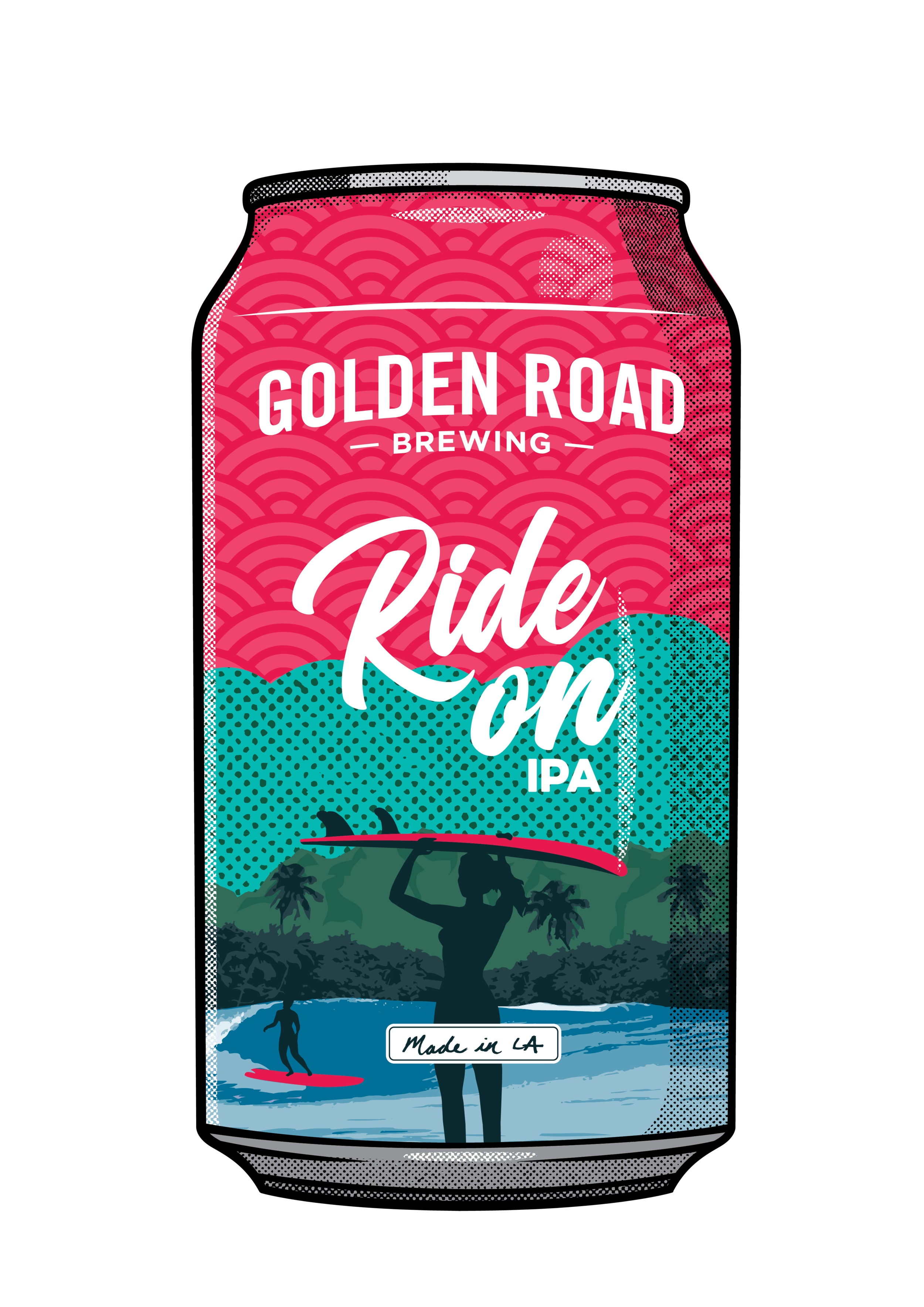 Illustrated 12 Oz Can —   PDF  ,   PNG