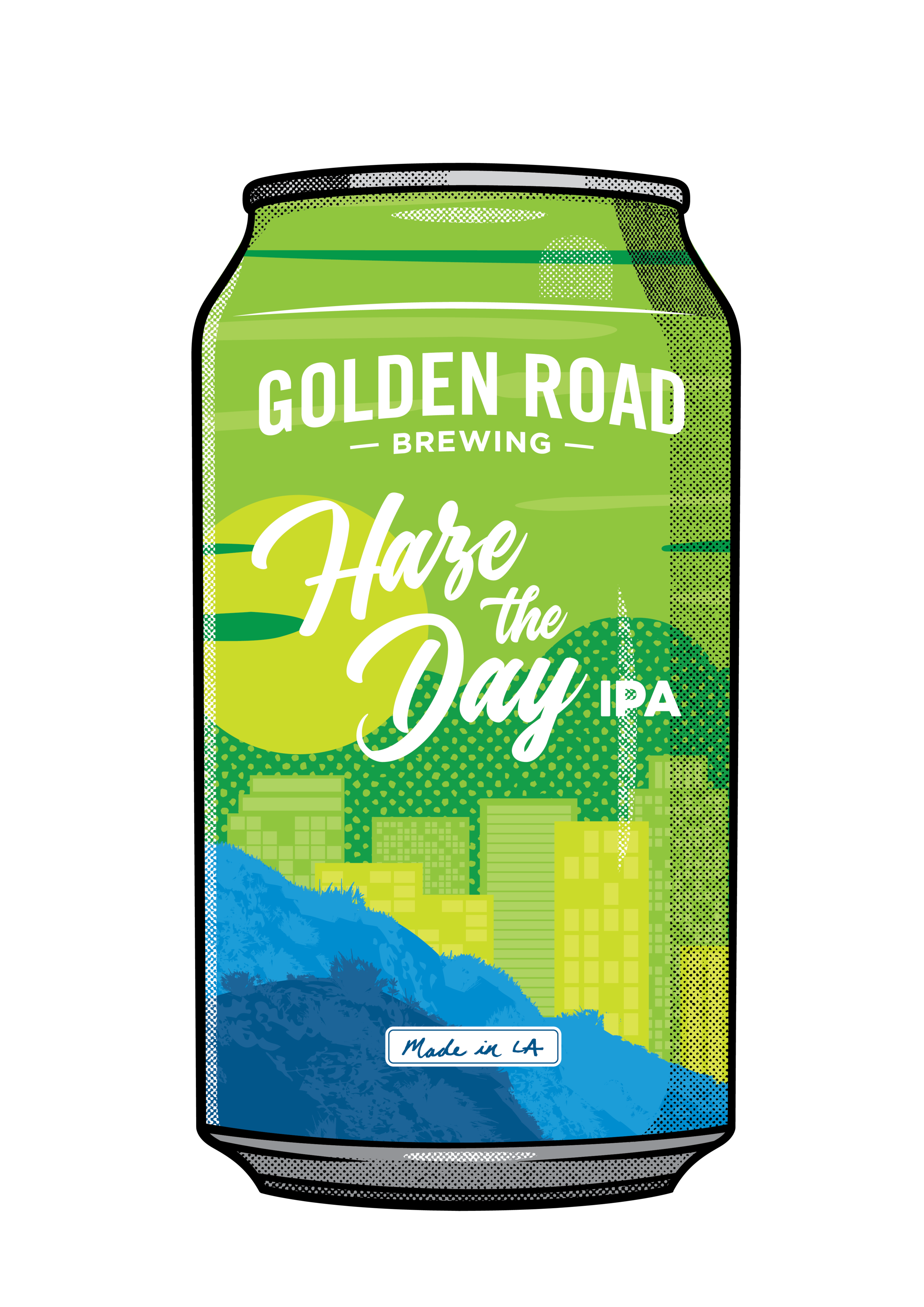 Illustrated 12oz Can —   PNG