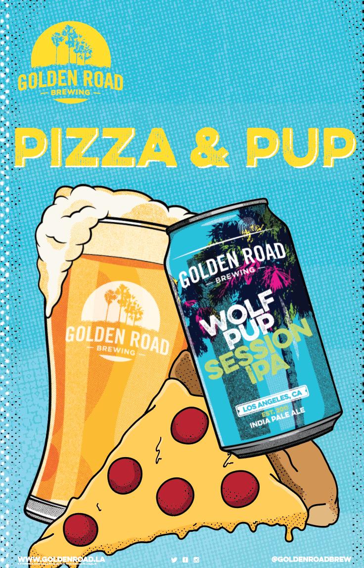 """Pizza & Pup 11""""x17""""–   PDF"""