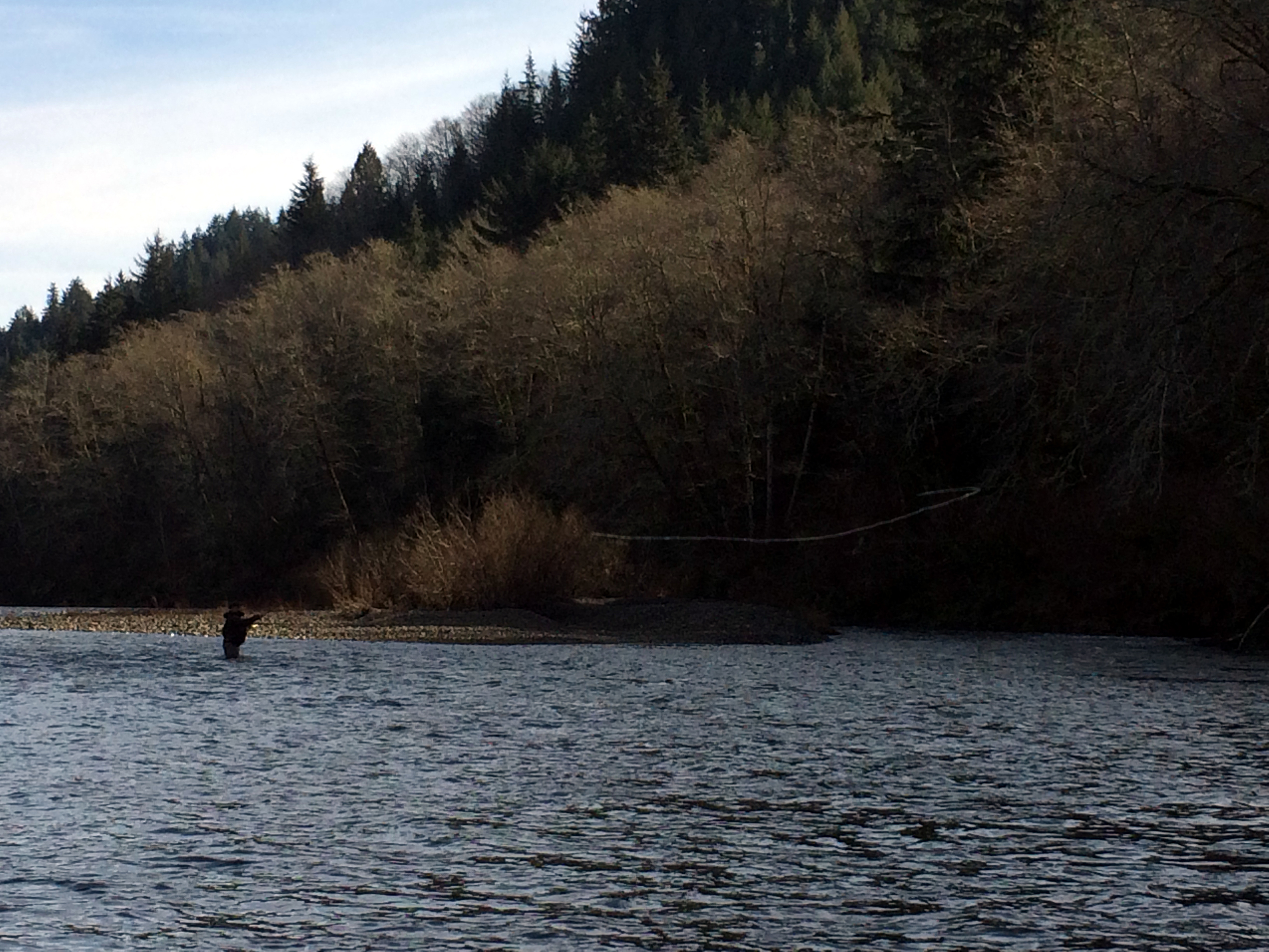 Dave Hess casting over a soft spot behind the island.jpg