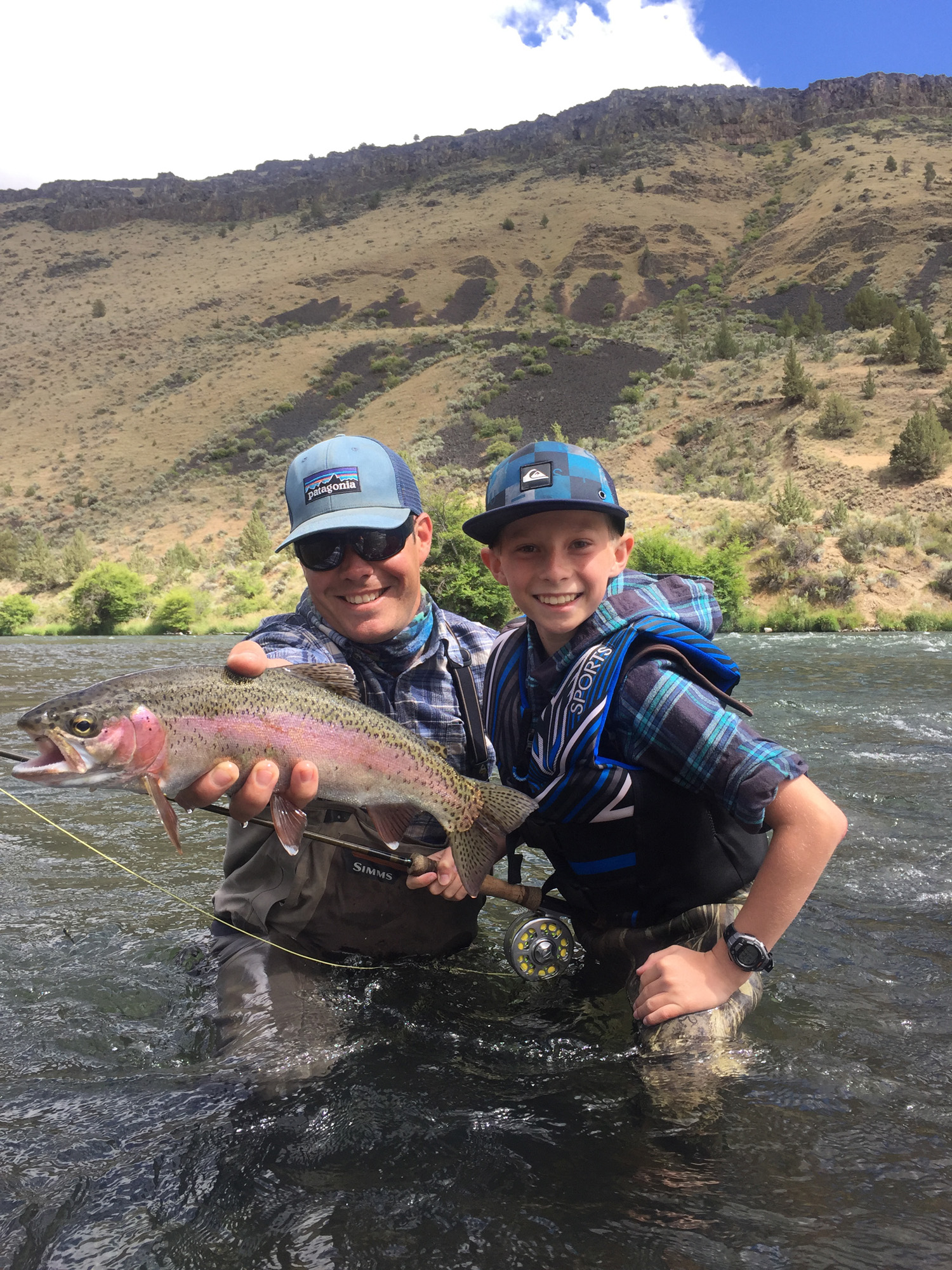 Ethan Anderson's first day with a fly rod