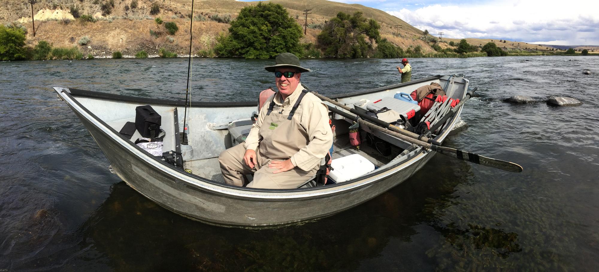 Drift boats + fly fishing = good times!.jpg
