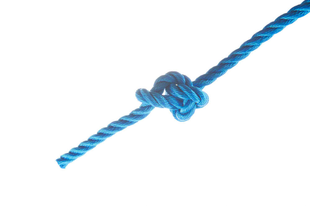 Ashley's stopper knot - Oysterman's stopper knot