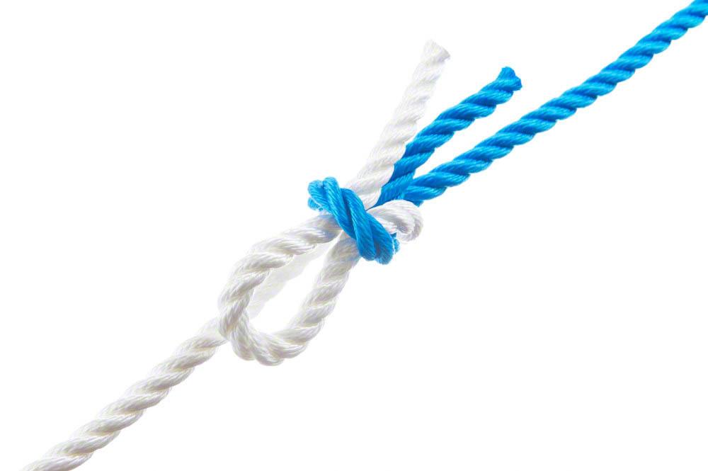 True reef knot