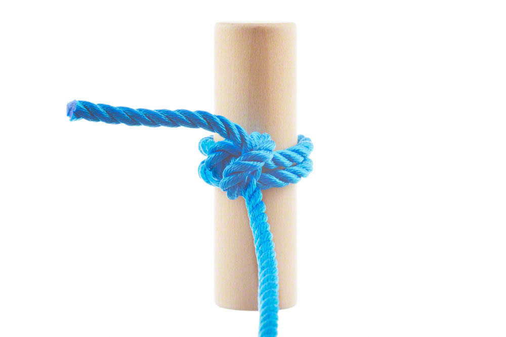 Two half hitches knot