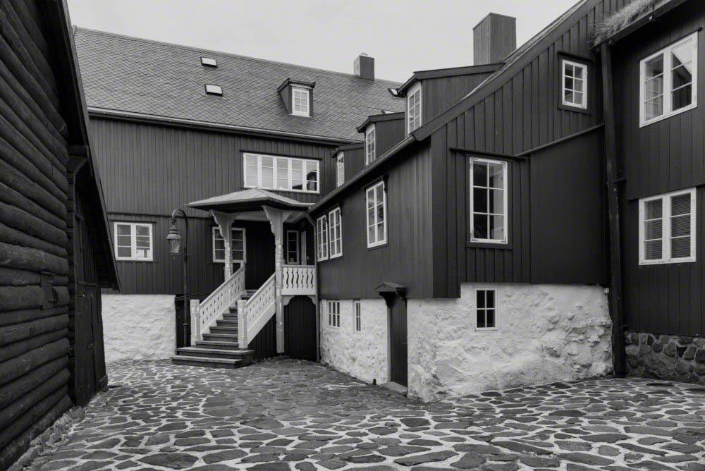 Governmental buildings in Torshavn