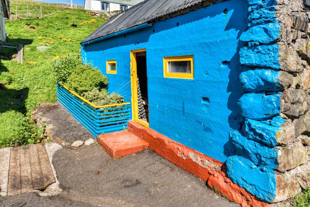 House in the village of Skúvoy