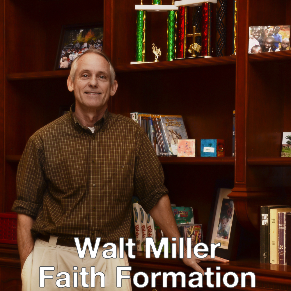 """Walt MillerCommunity Pastor - Walt Miller has been at St. John's Parish for the past 25 years. Walt provides pastoral care, supporting parishioner's ministries, teaching, and networking in the broader community. Walt started out as a public school teacher in various positions for 25 years before joining St John's.""""I have a wonderful wife and 4 terrific kids"""". We love the people and support at St. John's and you are welcome to stop by anytime to pick the fruit of the season. St. John's provides the best opportunities to worship and praise God on the islands.""""Walt Miller - wmiller@stjohnsparish.net"""