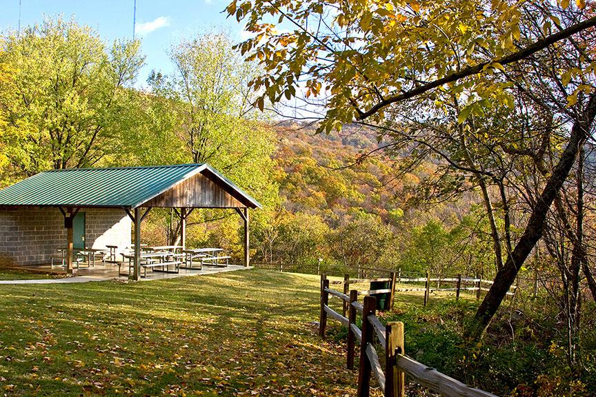Monte Sano Preserve Pavilion Green