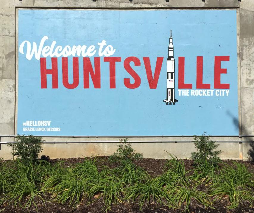 Huntsville Mural