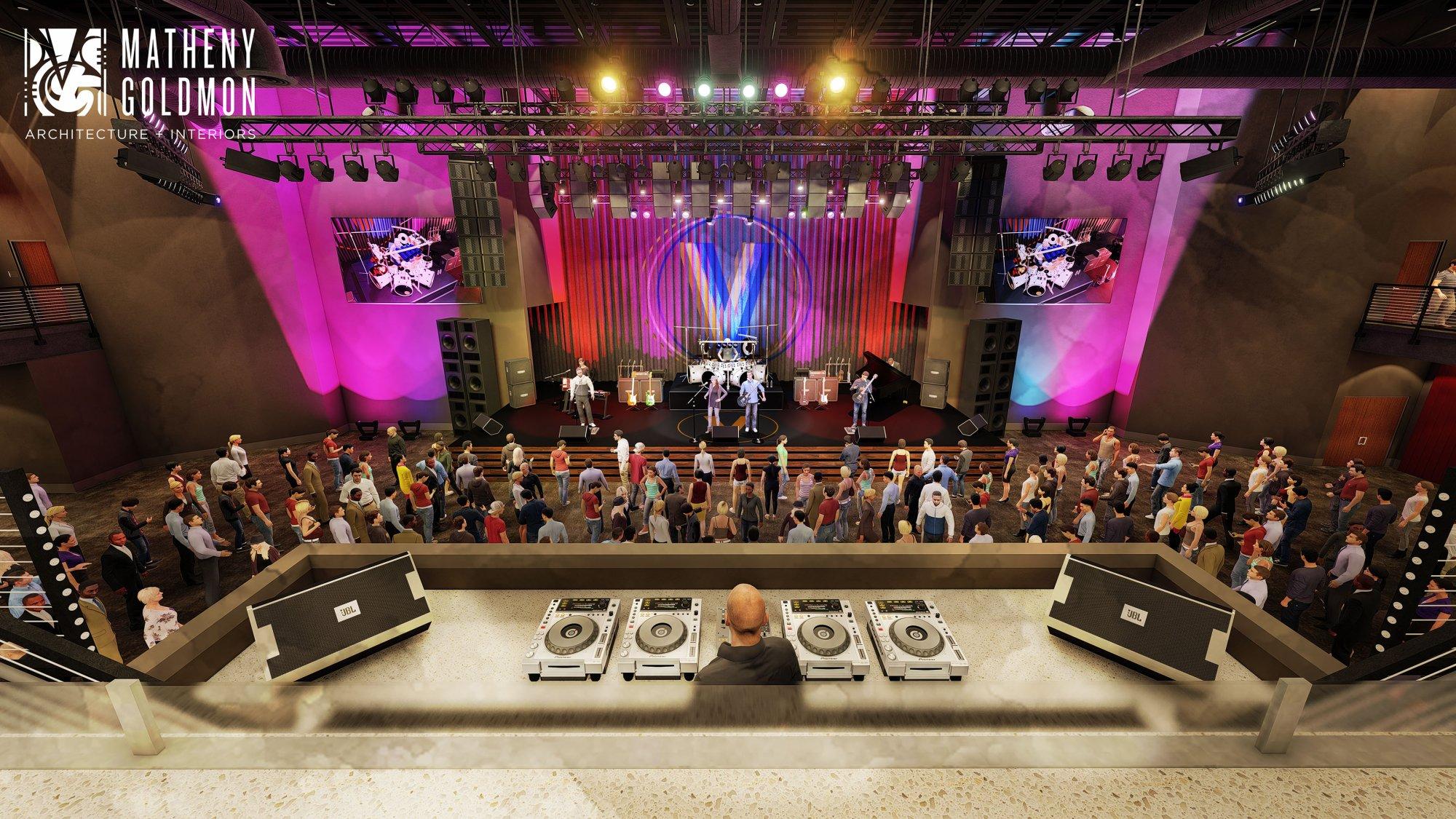 VBC Music Hall Rendering
