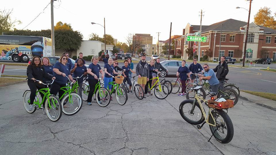 0dc3de8a07e Bike Infrastructure: In 2018, Downtown Huntsville won an International  Downtown Association award for the Spragins Connector—the new cycle track  that ...