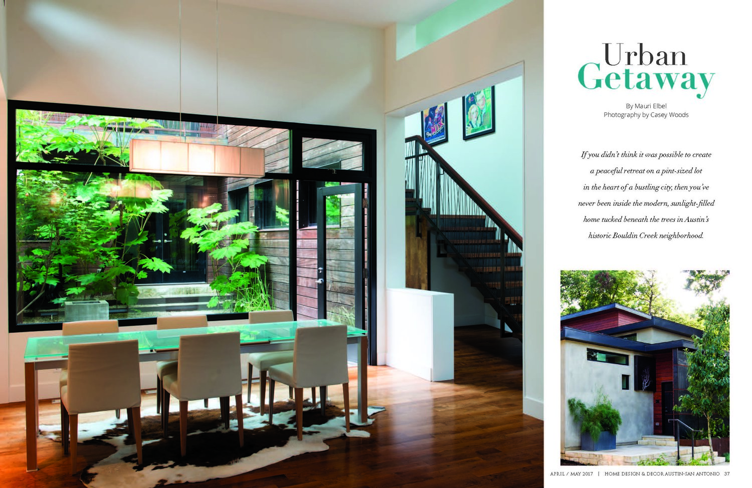 See One Of Our Projects In Home Design Decor Magazine