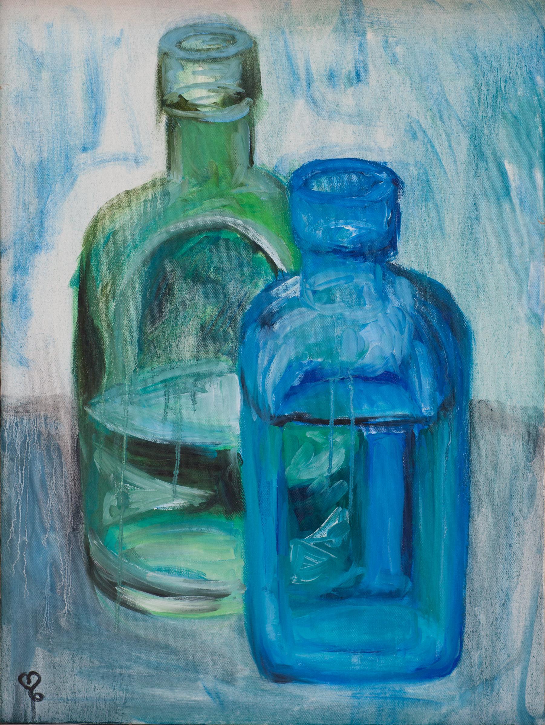Blue Bottles 2