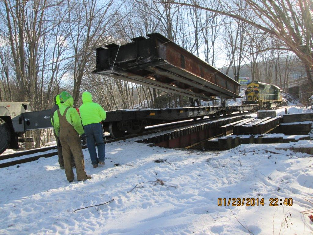 Minersville Bridge Deck Removal Gallery