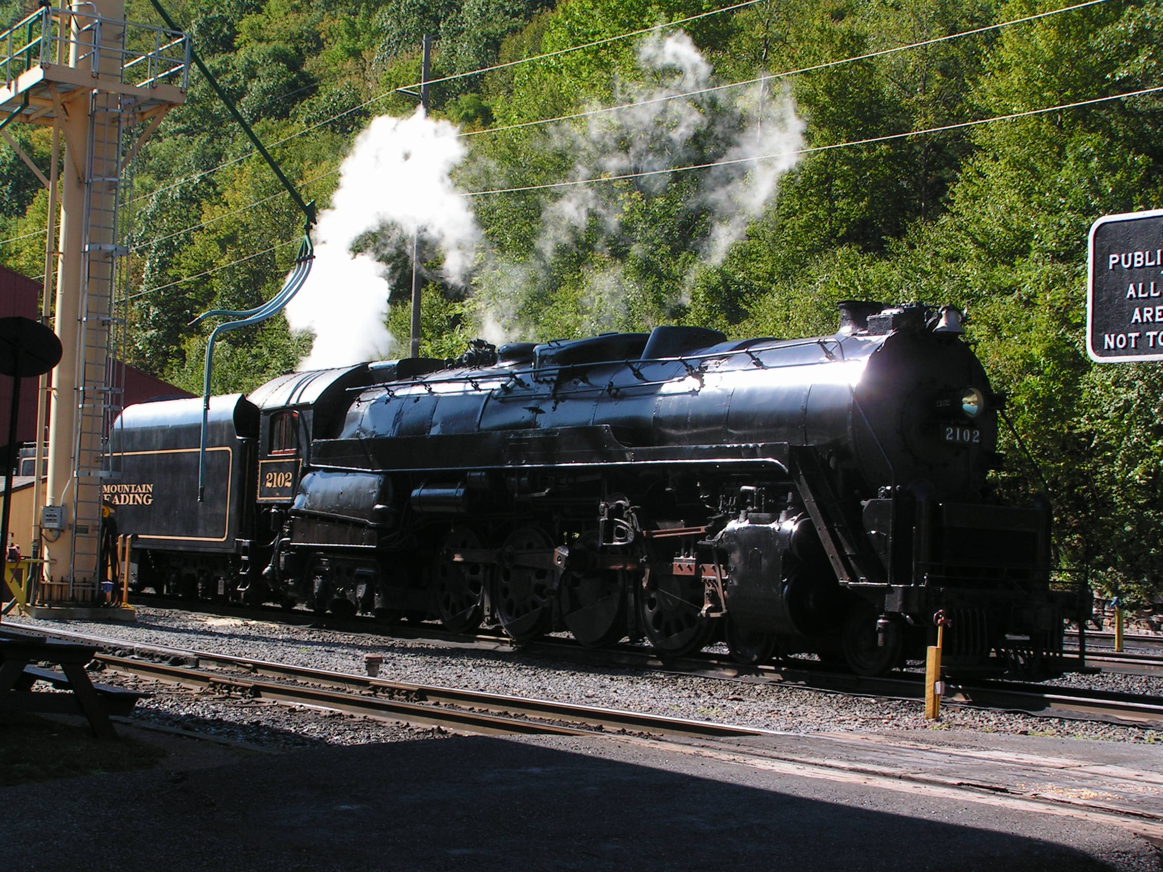 Steam — Reading Blue Mountain & Northern Railroad