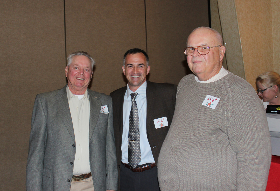 From left to right: William Frederickson, Tyler Glass, and Allen Keller.