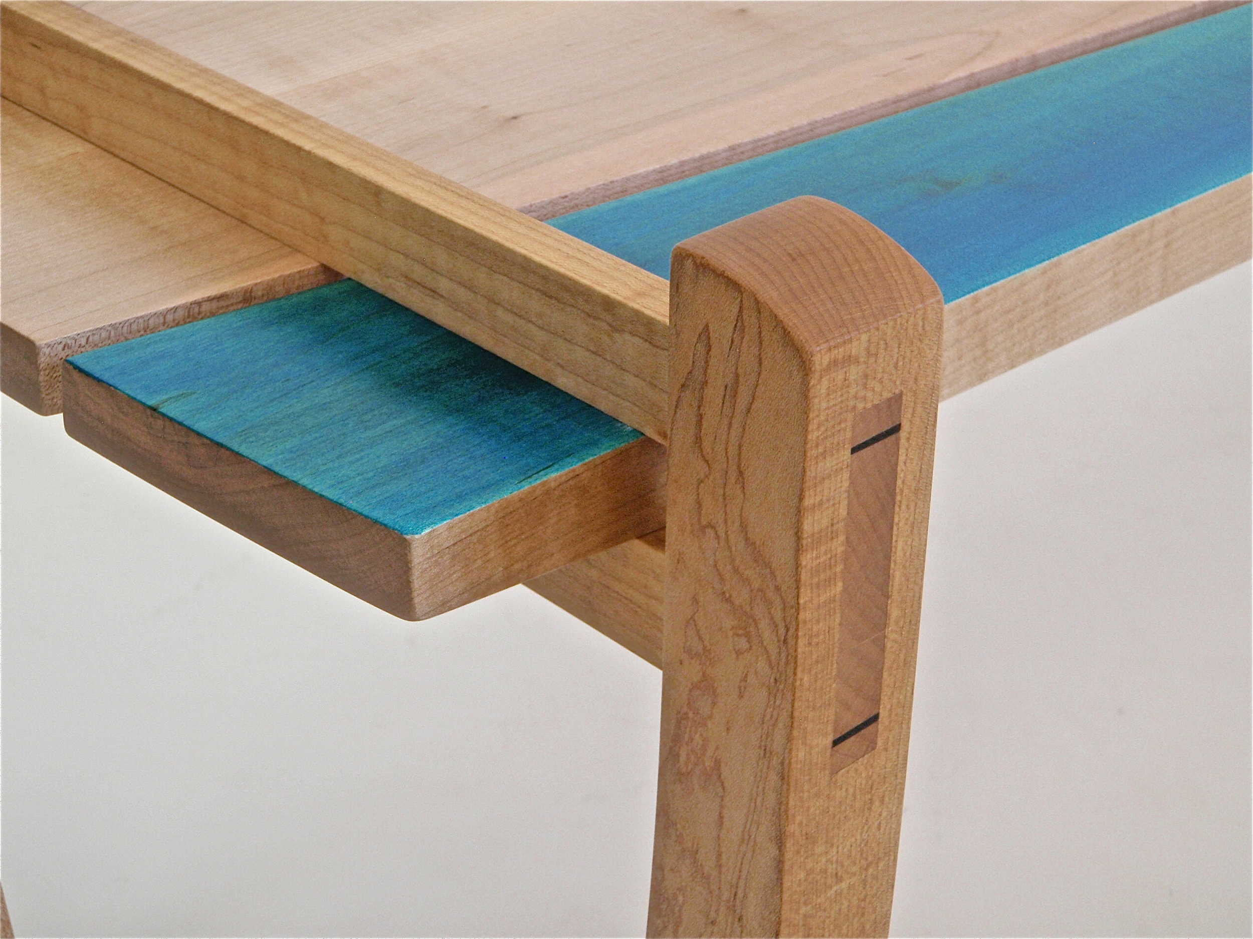 Blue fin coffee table