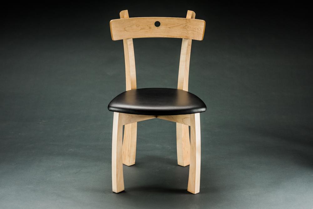 Blue dot chair