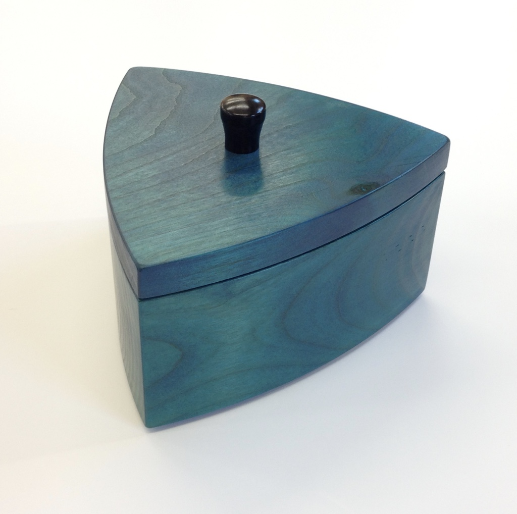 triangle blue box